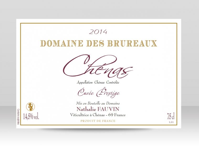 Bouteille Cuvée Prestige 2016