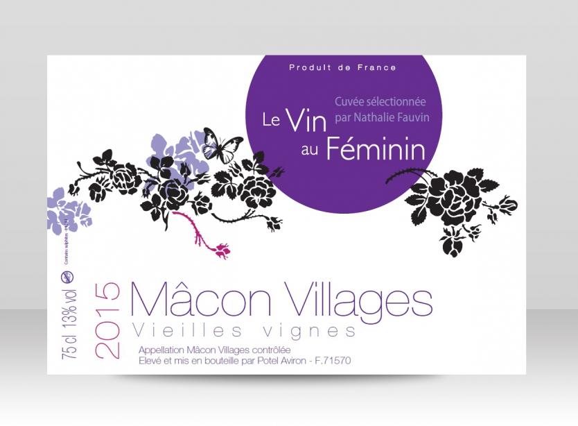 Bouteille Mâcon Village 2015