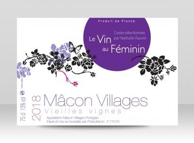 Bouteille Mâcon Village 2018